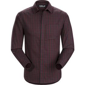 Arc'teryx Bernal LS Shirt Men Black Baccara